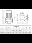 циркуляционный насос 3VP-DN100L
