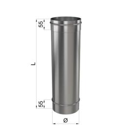 Труба L 500 1мм