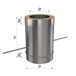 Регулятор тяги н\оц 1 мм