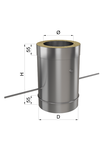 Регулятор тяги н\оц 0,8 мм