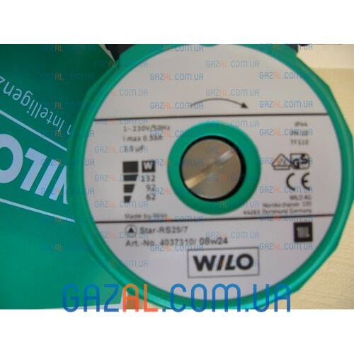 циркуляционный насос Wilo Star-RS 25/7