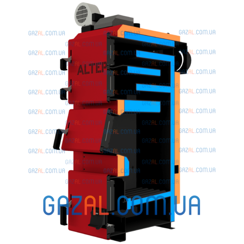 Котел длительного горения ALTEP DUO PLUS (17-250) кВт