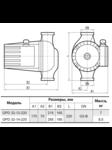 циркуляционный насос GPD 32-14-220 + присоединительный комплект