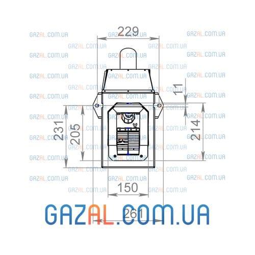 Пеллетная горелка AIR Pellet Ceramic 40 кВт