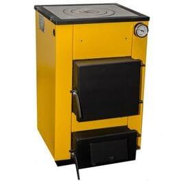 Котел твердотопливный Буран-Мини с плитой (12-18) кВт