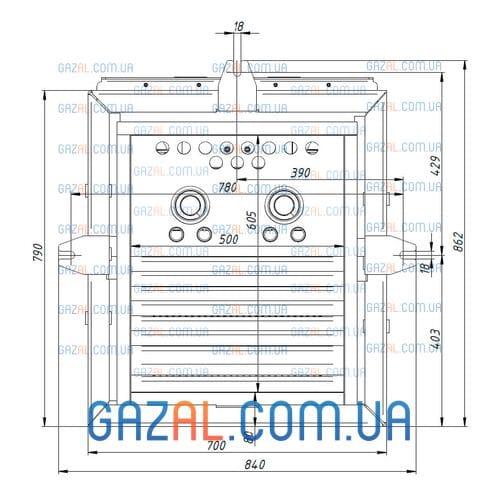 Пеллетная горелка AIR Pellet Ceramic 1000 кВт