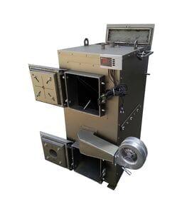 Пиролизный котел с ГВС DM-STELLA (20-60) кВт