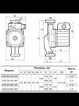 циркуляционный насос LRS 25-4S-130