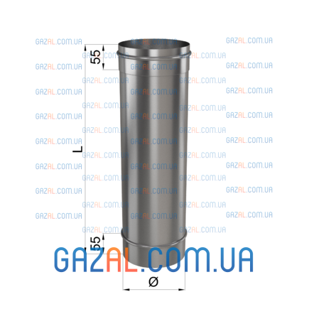 Труба L 1000 0,8мм