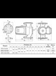 циркуляционный насос GPD 11-35-750 с ответными фланцами