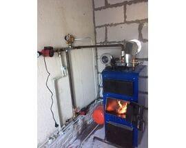 Установка котла отопления в частном доме - NEUS