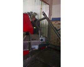 Монтаж пеллетного котла ALTEP TRIO UNI Pellet 200 кВт с пеллетной горелкой OXI