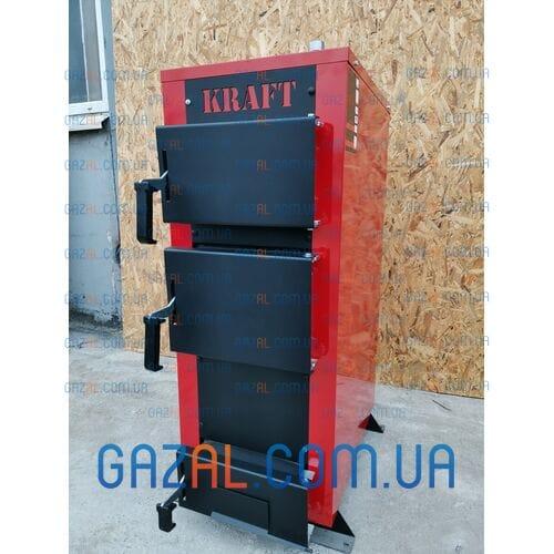 Твердотопливный котел Kraft серия E New (12,16,20,24) кВт