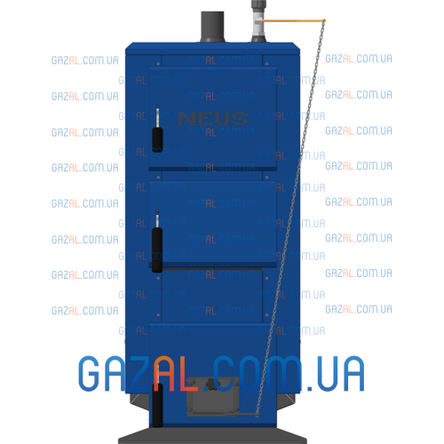 Котел длительного горения НЕУС КТМ (12-50) кВт