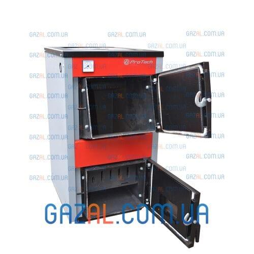 Твердотопливный котел с плитой Protech ТТП D-Luxe (12-18) кВт